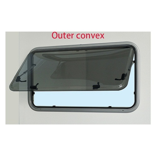 Newly developed outer push rv window caravan window